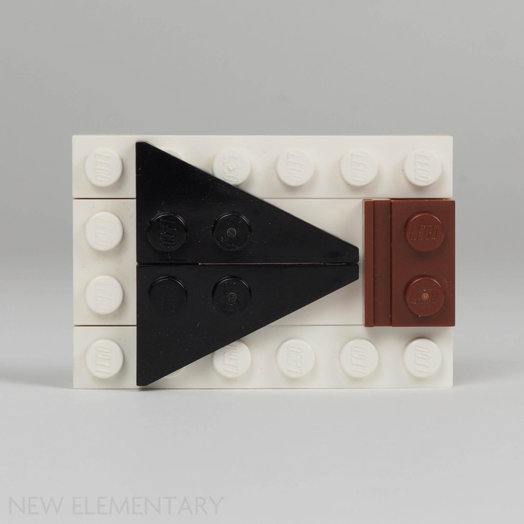 LEGO 50 New Dark Bluish Gray Wedges Plates 6 x 3 DOT Left Pieces