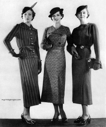 La mode des années 30 comme un retour au classicisme avec élégance ...