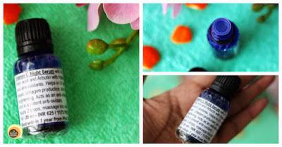 Aroma Essentials vitamin c night serum packaging