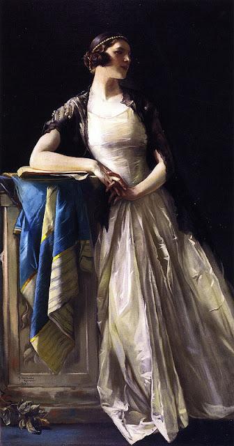 Julius Rolshoven (1858-1930) - Донна Тоска