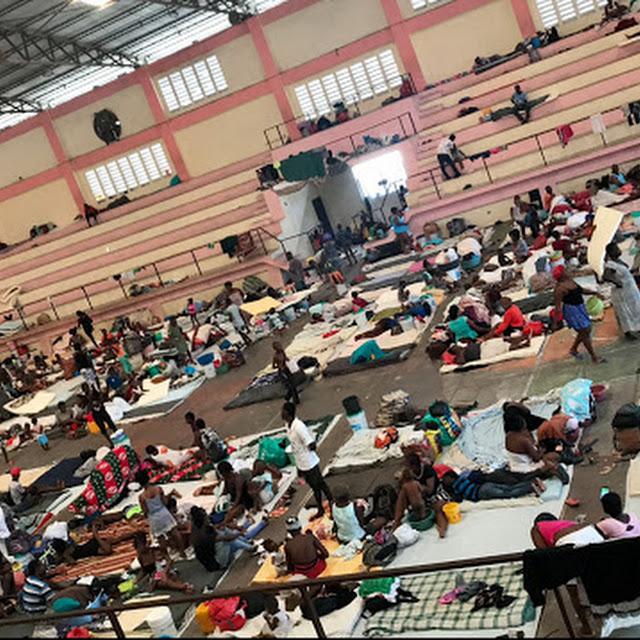 2,500 PERSONAS DESPLAZADAS EN POLIDEPORTIVO DE CARREFOUR, EXPULSADAS DE MARTISSANT POR BANDAS CRIMINALES ARMADAS