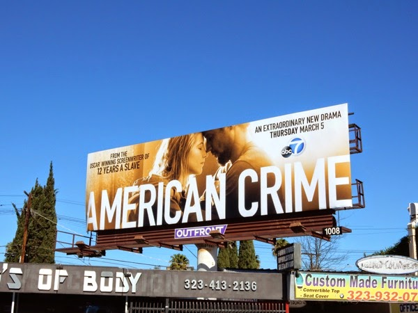 American Crime ABC series billboard