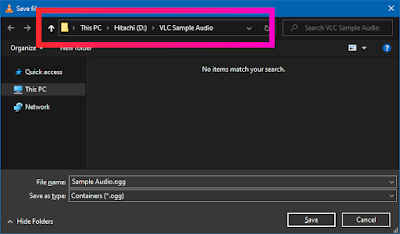 Croben.com Extract Audio Using VLC Step 9