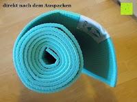 auspacken: Yogamatte »Annapurna Comfort« / Die ideale Übungs-Matte für Yoga, Pilates, Gymnastik. Maße: 183 x 61 x 0,5cm / In vielen Trend-Farben erhältlich.