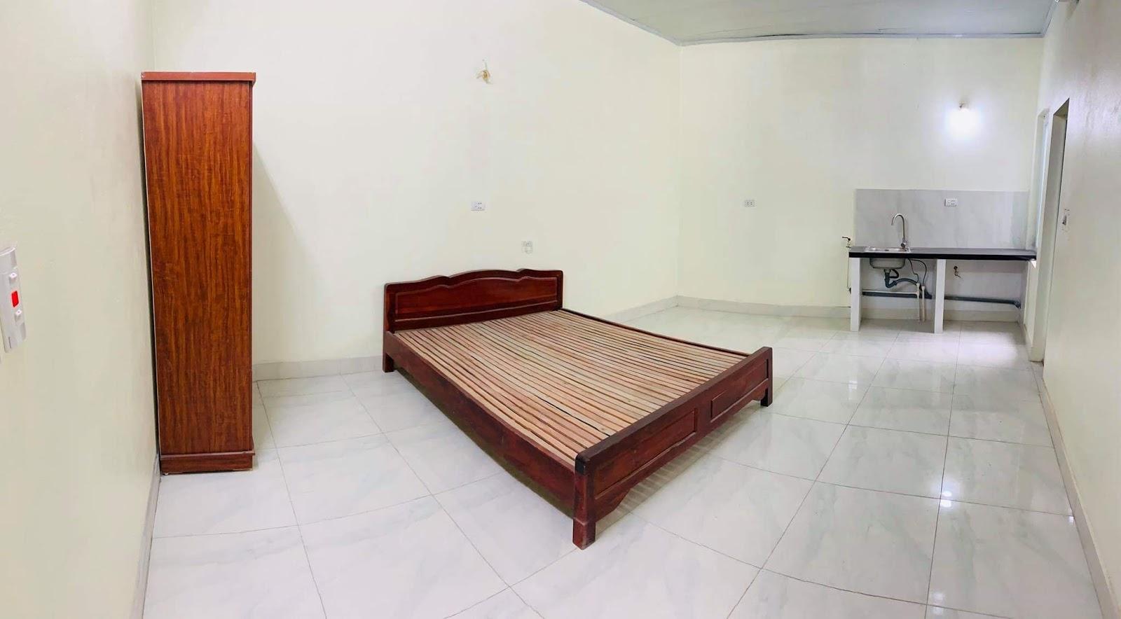 Phòng trọ khép kín khu cầu giấy có kệ bếp giường tủ
