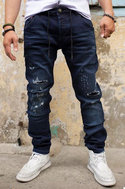 quần jean nam rách tiếp tục làm mưa làm gió với những thiết kế mới
