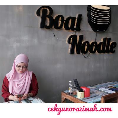 boat noodle shah alam, boat noodle gamuda walk, boat noodle, lokasi boat noodle gamuda walk, boat noodle shah alam