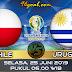 Prediksi Skor : Chile vs Uruguay 25 Juni 2019