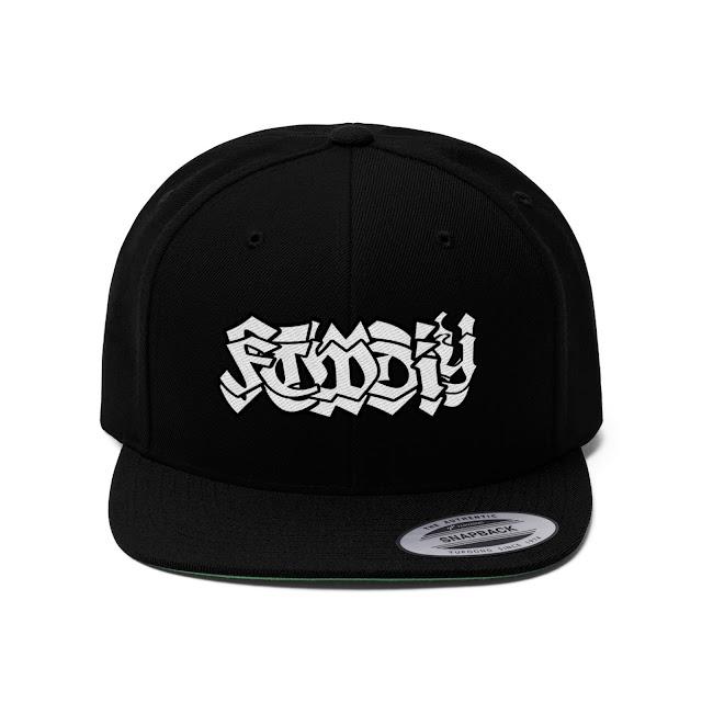 $20 FTWDIY Black Flat Bill Hat