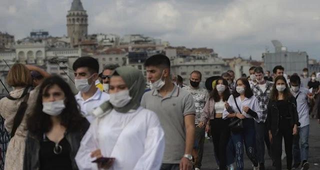 تعميم للداخلية التركية بخصوص التدابير الجديدة لمواجة تفشي كورونا