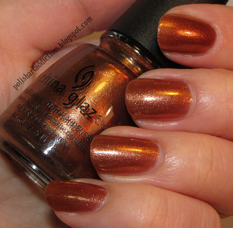China Glaze - In Awe of Amber