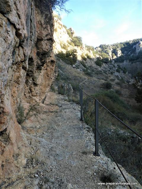 senderismo cerca de Albarracín en Teruel