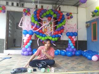 menerima dekorasi balon untuk aneka acara anda