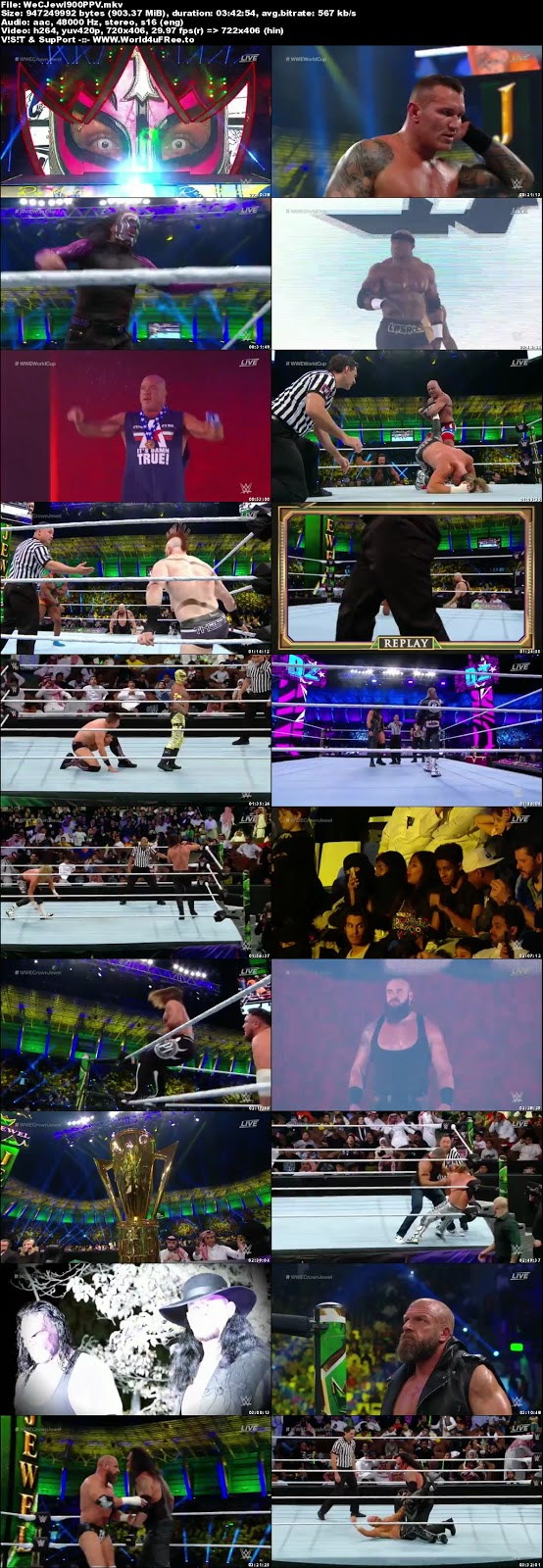 WWE Crown Jewel 2018 PPV WEBRip 480p 900MB x264 Download tv show WWE Crown Jewel 2018 PPV 900mb 720p compressed small size free download or watch online at world4ufree.fun