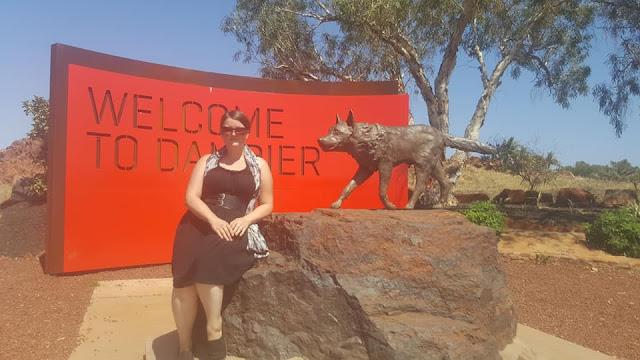 Red Dog Memorial in Dampier | Australian Public Art
