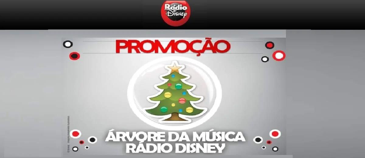 Cadastrar Promoção Rádio Disney Natal 2019 Árvore da Música