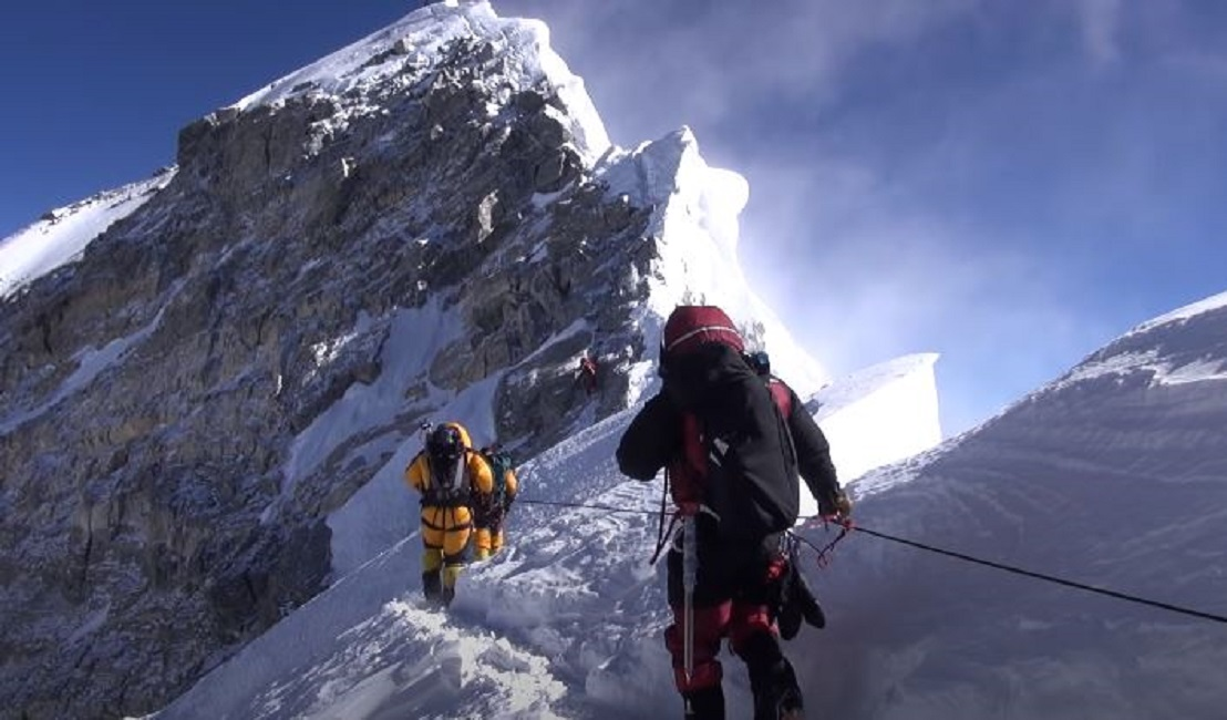 Mount Everest height increased