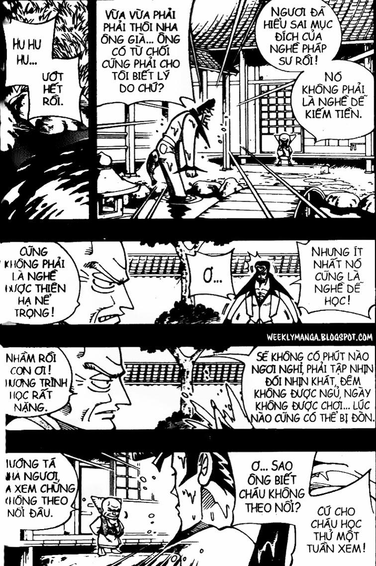 Shaman King [Vua pháp thuật] chap 102 trang 8