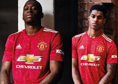 Photos Manchester United Unveils New Jersey Kits For 2020 2021 Season Welcome To Mighty Cee S Blog