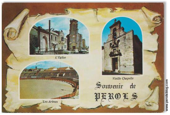 Carte postale sur Pérols