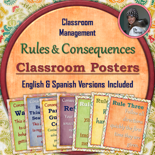 Rules and Consequences Poster Pack V2