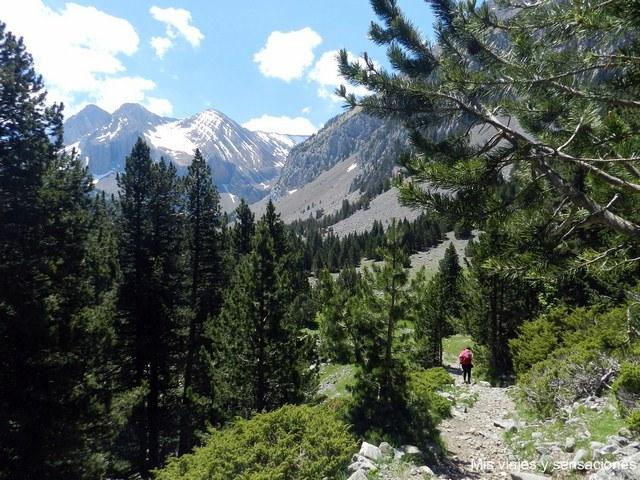 Ruta al Ibón de Plan o Basa de la Mora, Pirineo Aragonés