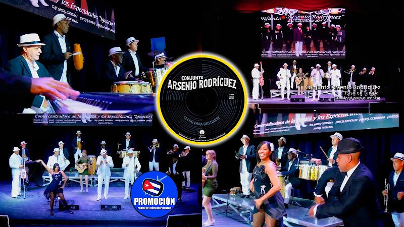 Conjunto Arsenio Rodríguez - ¨Pasó en Tampa¨ - Videoclip. Portal Del Vídeo Clip Cubano. Música tradicional bailable cubana. Son. Cuba.