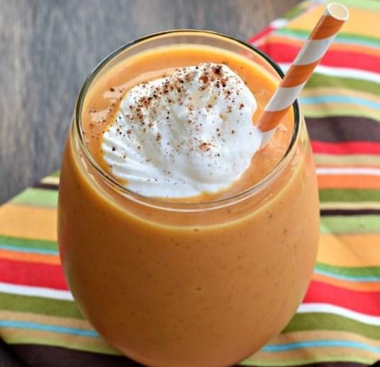 Pumpkin Pie Smoothie #drinks #breakfast