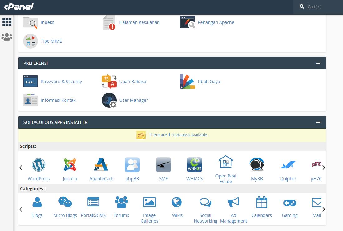 Panduan Langkah Cara Install Wordpress Via Cpanel Hosting