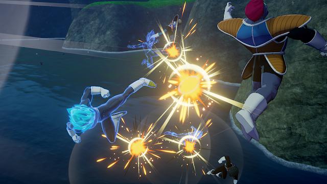 Nuevo contenido para Dragon Ball Z Kakarot - Llega el Super Saiyan Blue.