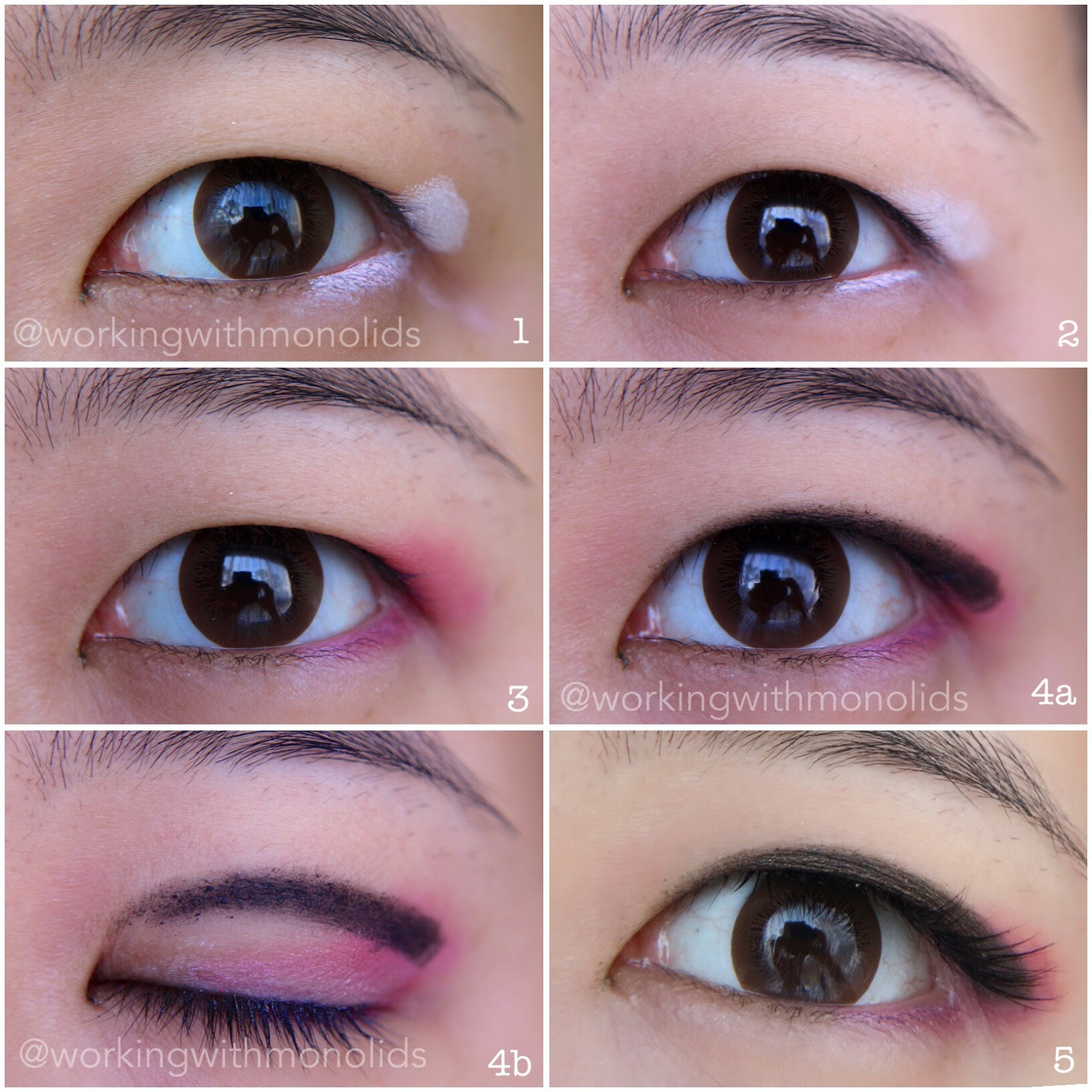 Workingwithmonolids tutorial sailor mars inspired wearable eye and heres the full face baditri Gallery