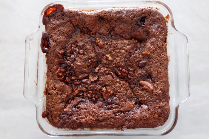 baked hot fudge pudding cake