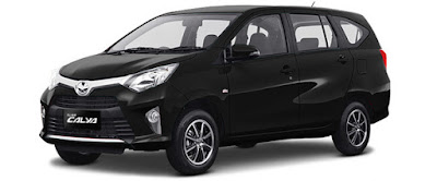 Toyota Calya Mini MPV all black hd image