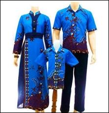 baju batik pasangan pasutri suami istri