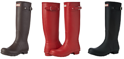 Amazon - Hunter Original Tall Welly Boot as low as $70, most around $115