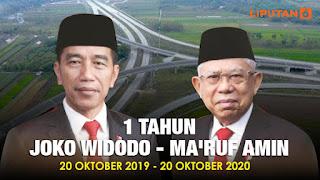 1 Tahun Jokowi-Ma'ruf Amin Wariskan Utang Rp 20,5 Juta ke Tiap 1 Penduduk Indonesia