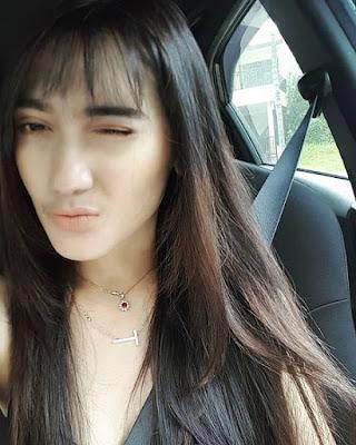 Revi Mariska pemeran Mayang Karuna di Kembalinya Raden Kian Santang (KRKS)