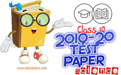 CBSE Class 10 Pre-Board Science Sample Question Paper Set-5 (2019-20)(#eduvictors)(#class10Science)