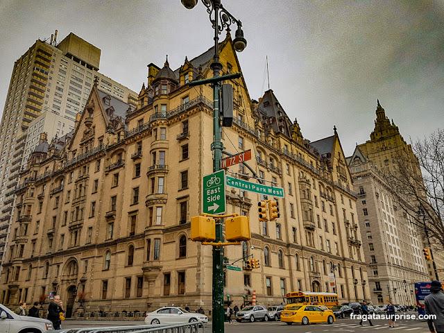 Edifício Dakota, residência de John Lennon em Nova York