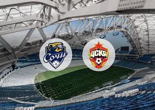ЦСКА - Сочи смотреть онлайн бесплатно 10 ноября 2019 ЦСКА - Сочи прямая трансляция в 16:30 МСК.