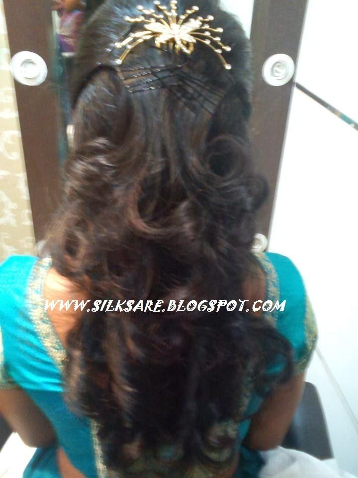 Admirable Latest Indian Wedding Silk Saree Jewellery Wedding Hair Style Short Hairstyles For Black Women Fulllsitofus