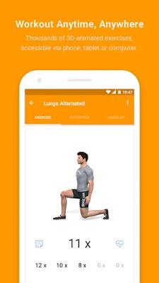 تحميل تطبيق اللياقة البدنية Virtuagym Fitness Tracker النسخة المدفوعة
