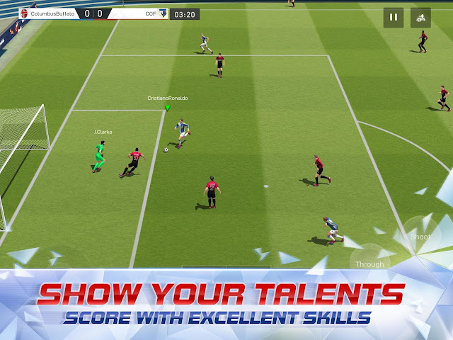 Game Online Android Terpopuler sports olah raga sepak bola