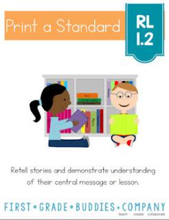https://www.teacherspayteachers.com/Product/Retelling-Central-Message-RL-12-No-Prep-Tasks-Assessment-Worksheets-1818583