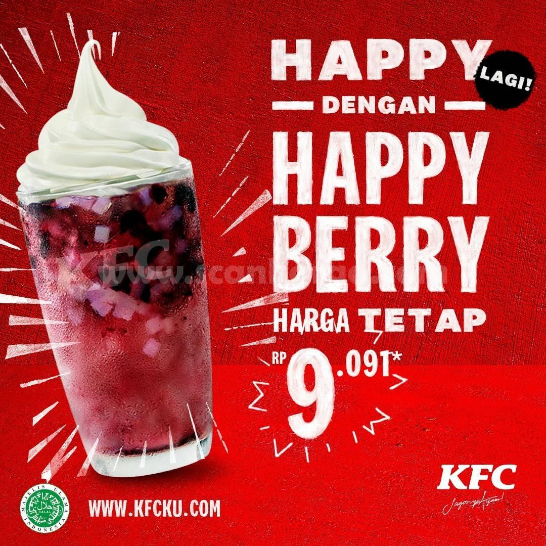 KFC Happy Berry! Harga HAPPY mulai Rp 9.091,-