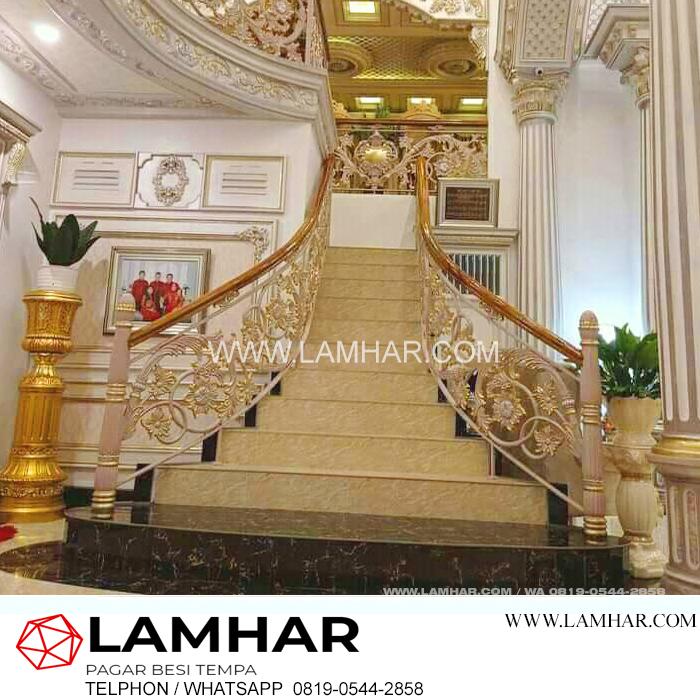 harga railing tangga klasik