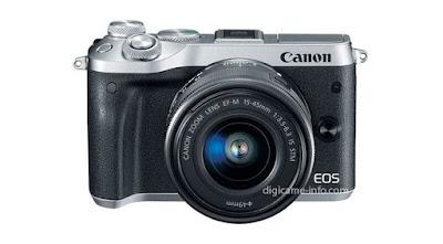 تسريب الصور والمواصفات الخاصة بكاميرا كانون Canon EOS M6