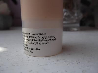 Pompom Neroli pleťový gél s kvetinovou vodou ingrediencie