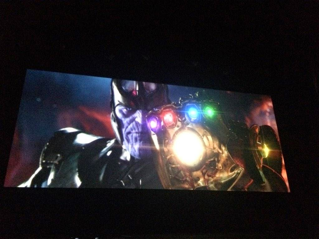 Thanos Infinity War screen shots Infinity Gauntlet