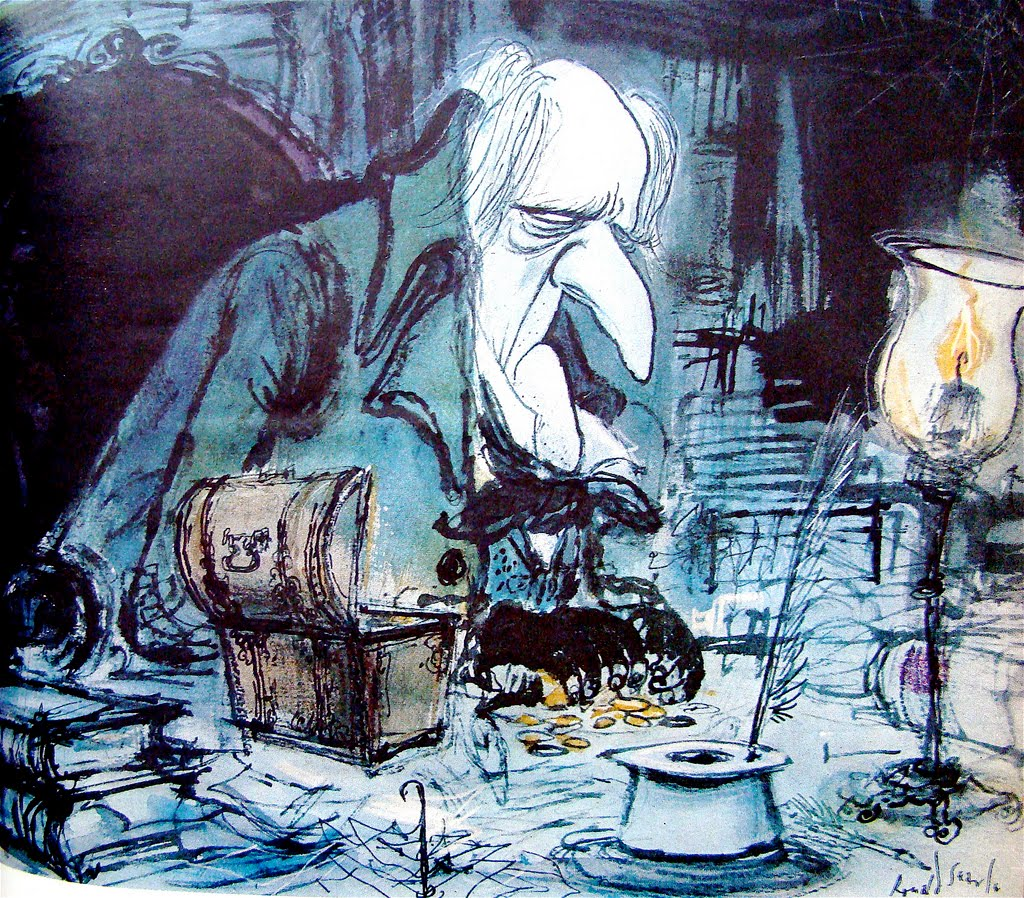 1000 Images About A Christmas Carol On Pinterest: 1000+ Images About Ronald Searle On Pinterest